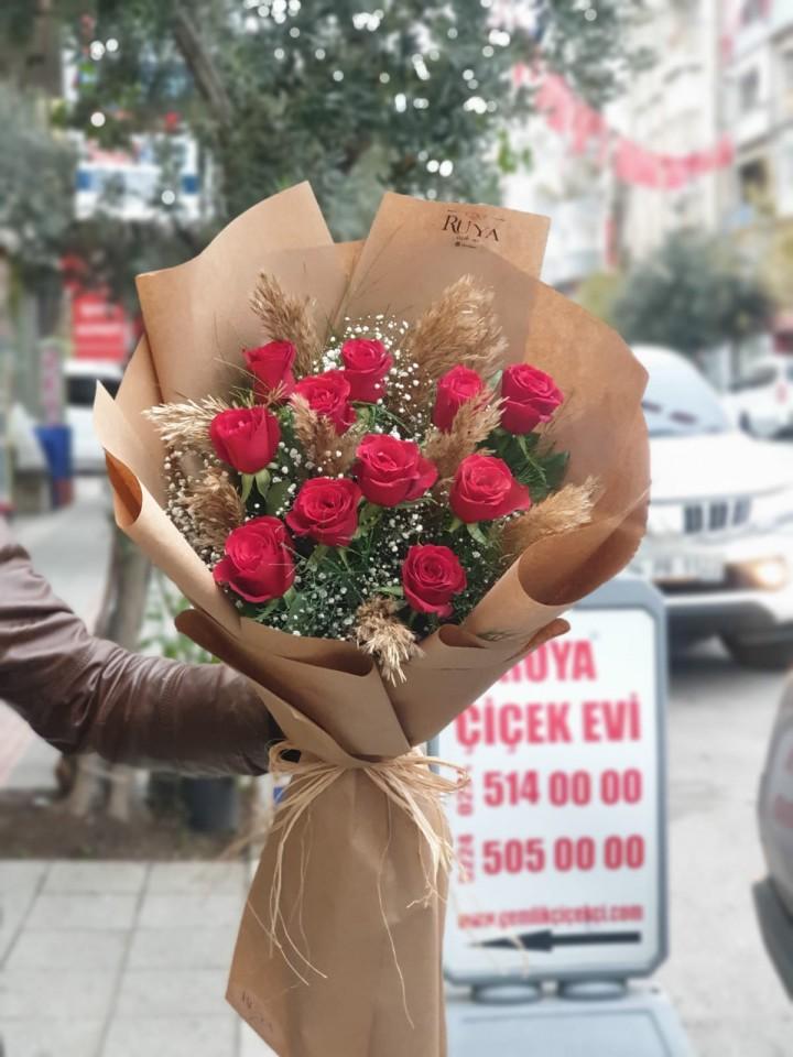Rüya Bouquet (11 Adet Gül)