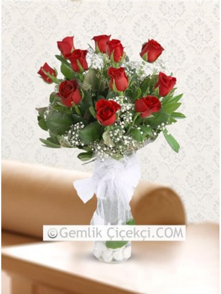 Büyük Aşk 11 Kırmızı Gül